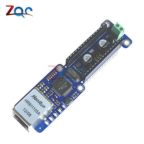 Laliva Tool - Nano W5100 Ethernet Shield LAN Netzwerk Ethernet Modul Micro-SD Support TCP UDP für Arduino V3.0 R3 UNO Mega 2560 One -