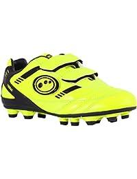 OptimumTribal Velcro Moulded Zapatillas de Fútbol, Niños