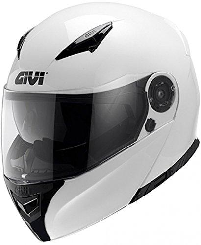 Givi HX16BB91063 Hps Hx16 Modular Casco Modular, Color Blanco, Talla 6