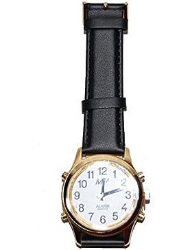 N.A. ma-hgl–Armbanduhr Unisex, Lederband
