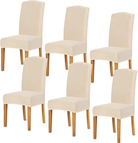TIANSHU Fundas para sillas 6 Piezas