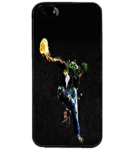 PrintDhaba Dancing Boy D-2212 Back Case Cover for APPLE IPHONE 4S (Multi-Coloured)