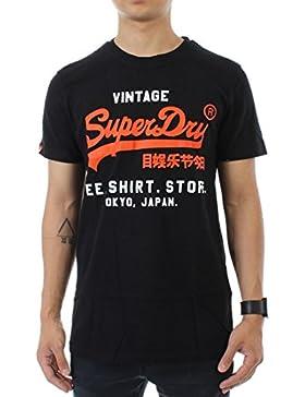Superdry–Camiseta para hombre de la línea Line Tee
