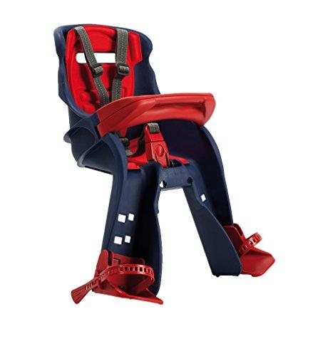 Ok Baby - Orion - il Seggiolino per Bambini Anteriore, Sicurezza in Bici Fin dai 7/8 Mesi (15 kg) Blu - 37604062