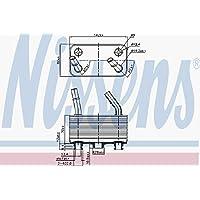Nissens 90787 Radiador de Aceite Transmisión Automática