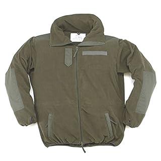 Winddichter Windbreaker Warme Fleece-Jacke ohne Membrane Wandererjacke Oliv Übergrößen S-5XL (L)