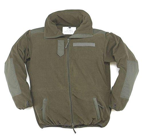 ker Warme Fleece-Jacke ohne Membrane Wandererjacke Oliv Übergrößen S-5XL (L) (Kunststoff Armee Männer Kostüm)