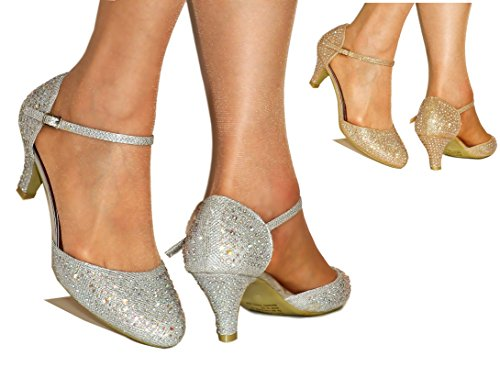 rock-on-styles-ladies-sparkly-diamante-gold-silver-ankle-strap-party-mid-low-heel-court-shoes-k392-u