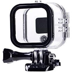Suptig de remplacement boîtier étanche boîtier de protection pour Gopro Hero 4session, 5session à l'extérieur Sport Camera pour une utilisation sous l'eau-Résistant à l'eau jusqu'à 59,7m (60M)...
