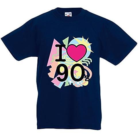 'N4540K T-shirt per bambini I Love