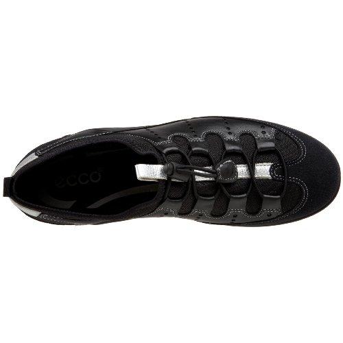 Ecco ECCO VIBRATION II 047203, Sneaker donna Nero (Schwarz (Black/Black 53994))