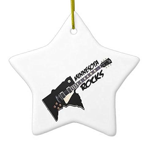 Minnesota Rocks Star Weihnachten Ornament