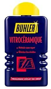 Buhler Nettoyant Vitrocéramique et Induction Lot de 3
