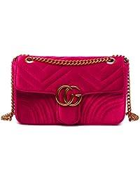 ce1c039870 Amazon.it: velluto rosso - Borse: Scarpe e borse