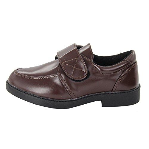 maxu printemps automne Fashion Casual école en caoutchouc Chaussures Marron