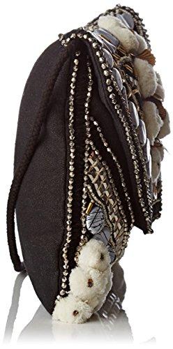 Antik Batik - Cuzco, Pochette da giorno Donna Nero (Black White)