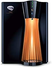 HUL Pureit Copper+ Mineral RO + UV + MF 7 stage Table top / Wall Mountable Black & Copper 8 litres Water P