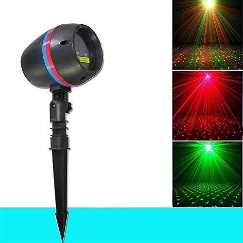 LED Projektor Weihnachten LED Effektlicht, IP55 Wasserdicht für Innen und Außen ALS Mauer Dekoration, für Halloween Weihnachten Karneval Kinder Geburtstags Party