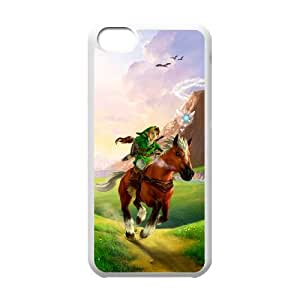 iPhone 5c Cell Phone Case White Super Smash Bros Link JSK683946