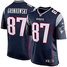Nike New England Patriots Nfl Game Team Jrsy - top à manches courtes Homme,  couleur