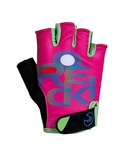 Roeckl Zuri Kinder Fahrrad Handschuhe kurz pink/grün 2017: Größe: 6