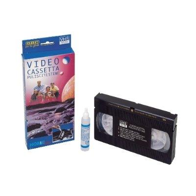 CASSETTA PULISCI-TESTINA PER VHS
