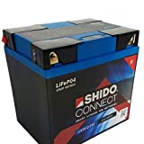 Batteria Shido Connect al litio LIX30L CNT / YIX30L-BS, 12V/30AH (dimensioni: 166x126x175)