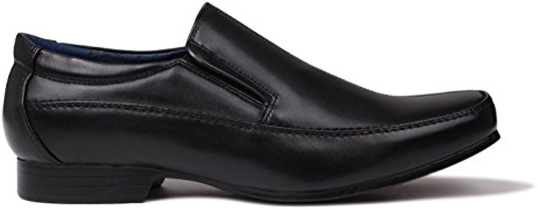 Giorgio Wilson Herren Slip On Schuhe Formal Smart Slipper Slip On Halbschuhe
