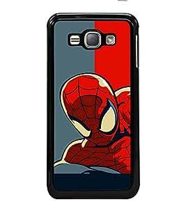 printtech Superhero Avengers Back Case Cover for Samsung Galaxy J1 (2016) :: Samsung Galaxy J1 (2016) Duos with dual-SIM card slots :: Galaxy Express 3 J120A (AT&T); J120H, J120M, J120M, J120T