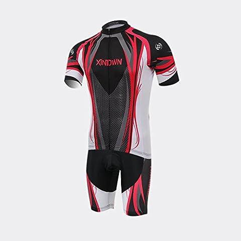 Costume Barbie Brisé - XINTOWN Summer Mens Pro Jersey de cyclisme
