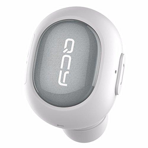 ELEGIANT Mini Senza Fili Orecchio Universale Bluetooth 4.1 Cuffie Invisibile Vivavoce Stereo Microfono Auto Auricolare Le Mani Auricolare con Microfono per Samsung iPhone iPad LG HTC Android Phone Bianca