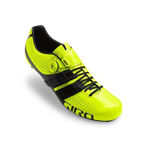 Zapatos Negro Techlace Resaltado Amarillo De Giro Hombres Factor ZxqwfW61