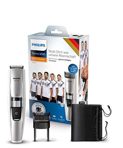 Philips Bartschneider Series 5000 Limited Fan Edition mit dynamischem Haarführungssystem BT5207/15 (17 Längeneinstellungen)