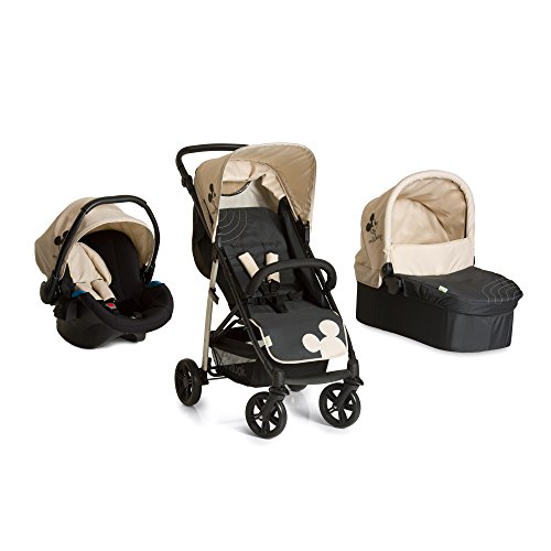 Hauck 149577 Rapid 4 Plus Trio Set con Multiaccessori, Mickey Charcoal