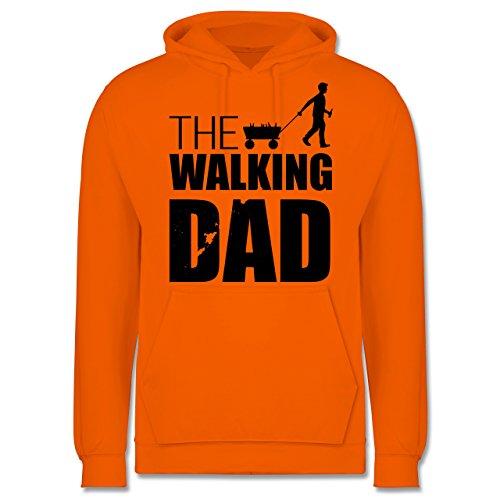Vatertag - The Walking Dad - Vatertag - Männer Premium Kapuzenpullover / Hoodie Orange