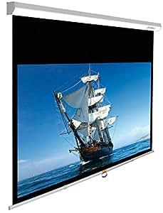 """Lumene CAPITOL PREMIUM 280C 110.2"""" 16:9 Blanc écran de projection - écrans de projection (2,8 m (110.2""""), 16:9, Aluminium, Blanc)"""