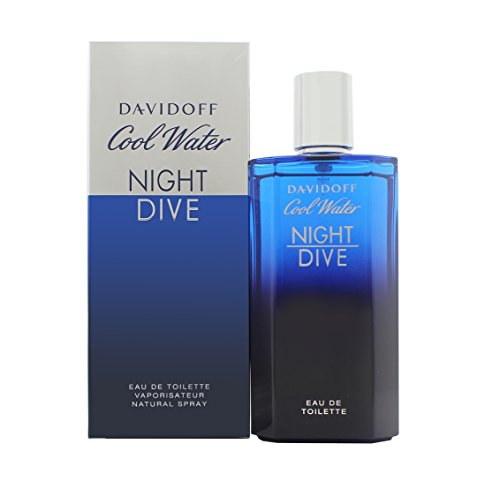 DAVIDOFF Cool Water Night Dive EDT Vapo125 ml, 1er Pack (1 x 125 ml)