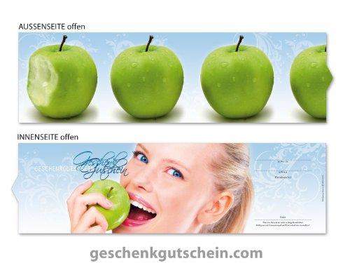 50 Stk. Premium Booklet Gutscheine für Zahnärzte, Kieferorthopäden, Mundpflege ZA702, LIEFERZEIT 2 bis 4 Werktage !