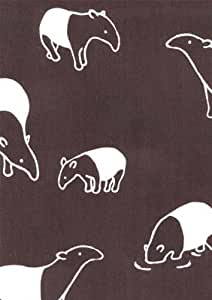 serviette Tapir malais 1014 [complet serviette ?tait tach?e de teint coul?] que MaruAkira (Japon import / Le paquet et le manuel sont ?crites en japonais)