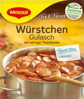 Maggi Fix & Frisch Würstchen Gulasch 30 g