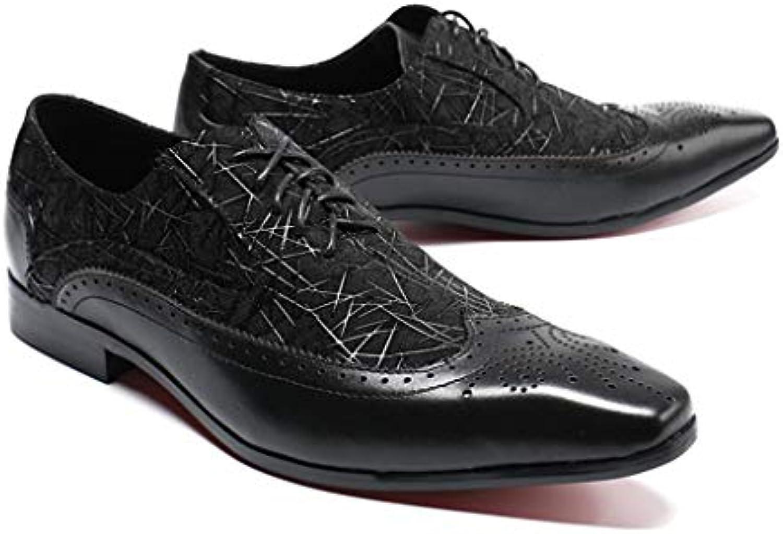 Mr.Zhang's Art Home Men's scarpe scarpe scarpe Scarpe Casual da Lavoro Nere con Scarpe da Uomo da Ufficio   Resistenza Forte Da Calore E Resistente    Uomini/Donne Scarpa  50d836