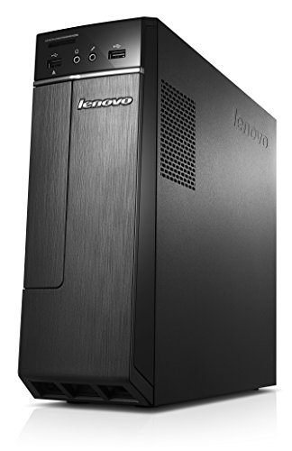 Lenovo H30-05 Desktop-PC (AMD A8-6410 Quad-Core Prozesor, 2,4GHz, 4GB RAM, 1 TB HDD, DVD-Brenner, Windows 8.1) schwarz