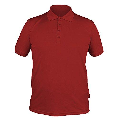 Herren T-Shirt, Poloshirt, atmungsaktives Material BOLEN ACTIVE Hi-Tec Rot