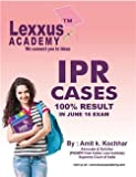 Intellectual property right (IPR cases for CS professional course)