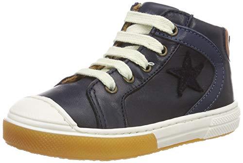 Bisgaard Unisex-Kinder 31839.119 Hohe Sneaker, Blau (Navy 601), 21 EU