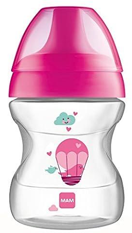 MAM Babyartikel 62835122 Learn To Drink Cup Tasse pour apprendre à boire Rose 190ml