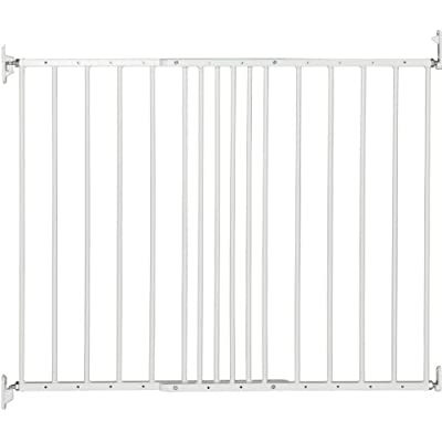 BabyDan Multidan Extending Metal Safety Gate, White Lindam
