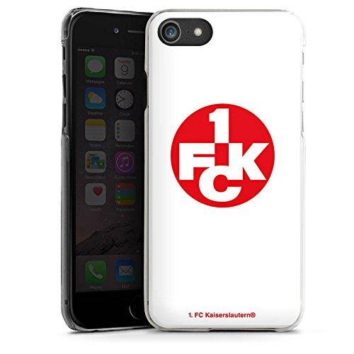 Apple iPhone X Silikon Hülle Case Schutzhülle 1. FC Kaiserslautern Fanartikel Bundesliga Hard Case transparent