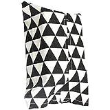 Mengonee Decorativo Estilo japonés Tela de algodón Tejido Facial Cubierta de la Caja de Papel Servilletero