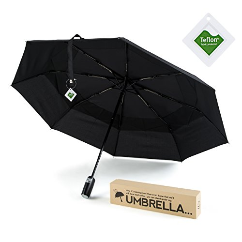 sturdy-teflon-coated-windproof-folding-umbrella-black-auto-open-close-with-double-vented-canopy-in-s